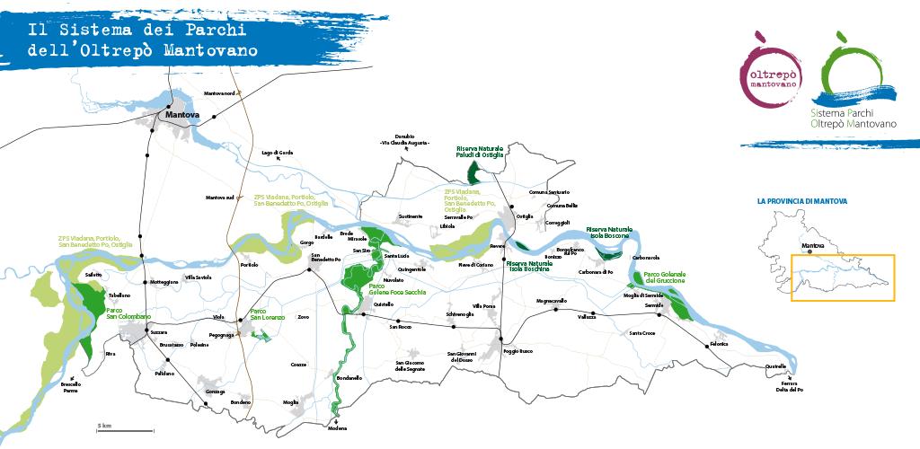 Il Sistema Parchi dell'Oltrepò Mantovano