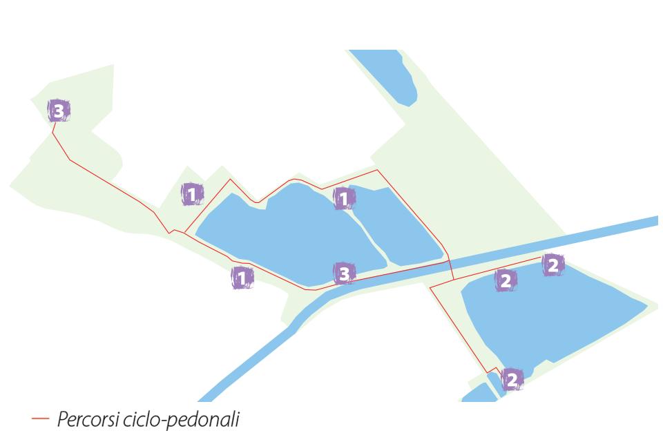 Parco San Lorenzo. Mappa