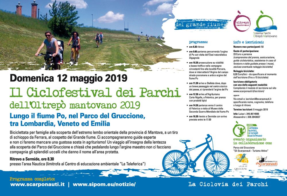 Ciclofestival dei Parchi dell'Oltrepò Mantovano 2019