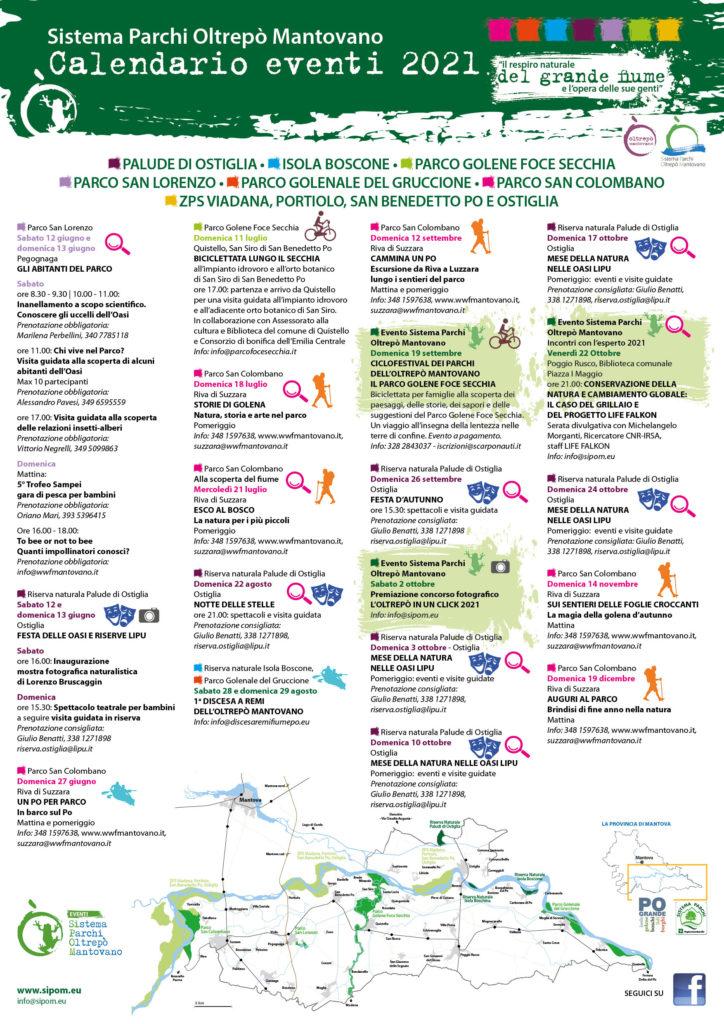 SIPOM. Calendario eventi